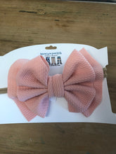 Load image into Gallery viewer, Waffle Headband Bows
