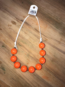 String chunky necklaces