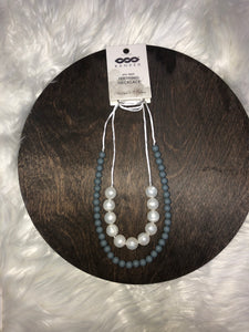 Pearl Double Strand Teething Necklace