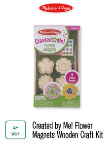 Created by Me Flower Magnets