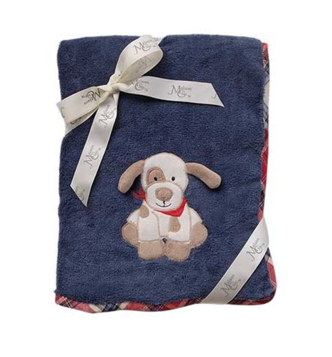 Max the Puppy Plush Blanket