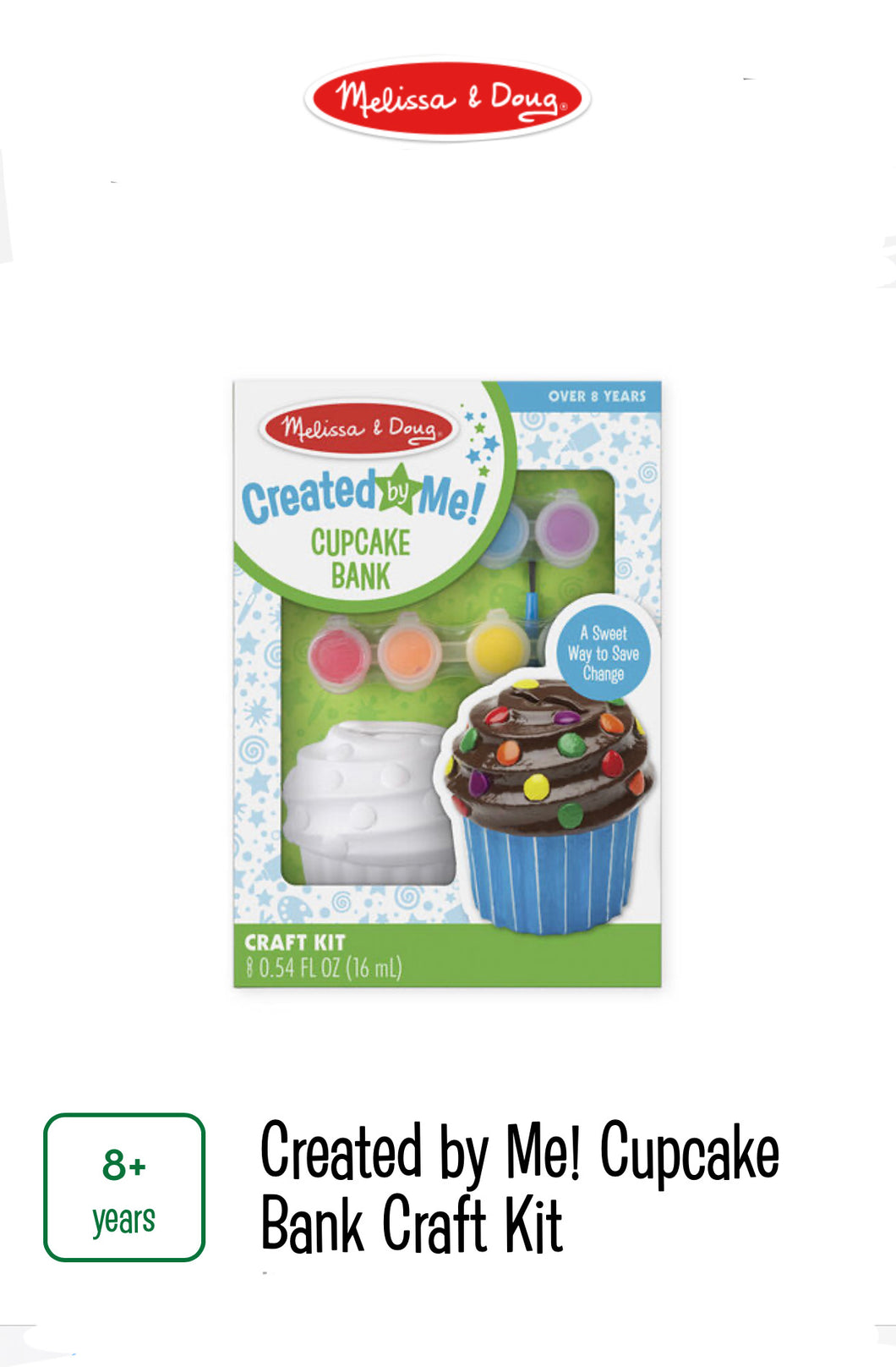 Cupcake Bank Craft Kit
