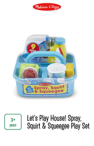 Spray! Squirt! & Squeegee Play Set