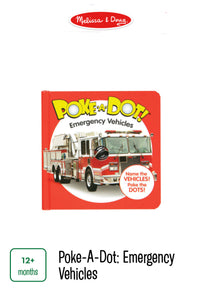 Poke-A-Dot Emergency Vehicles