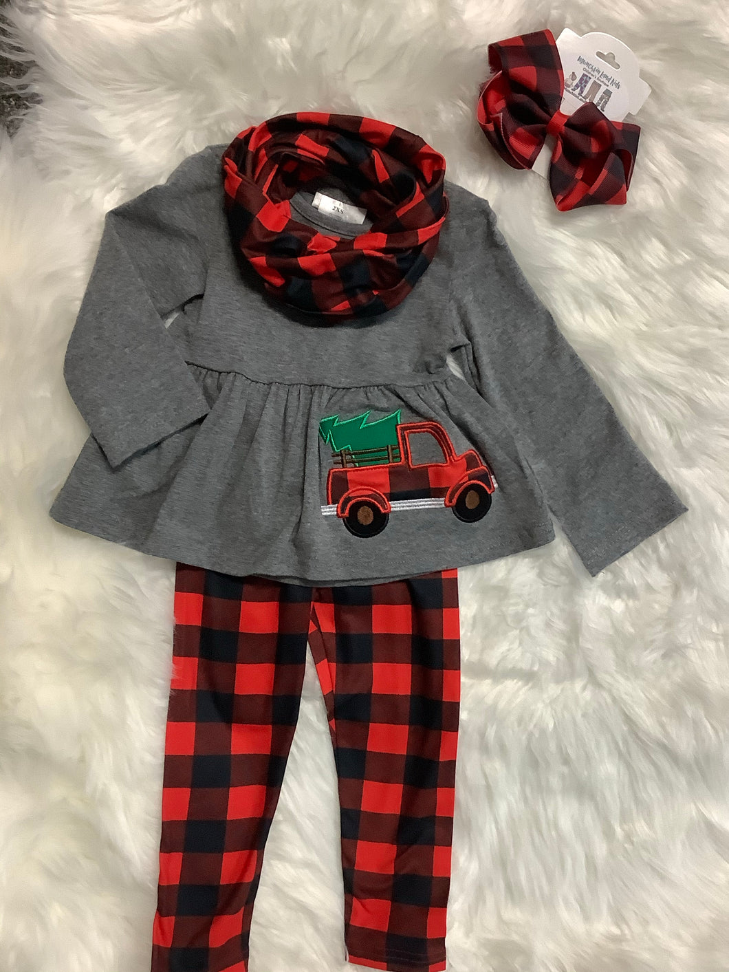 Christmas Truck 3pc Set