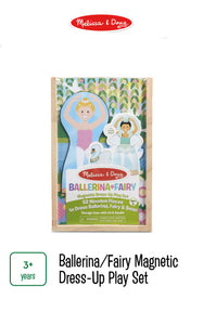 Ballerina/Fairy Magnetic Dress Up Play Set