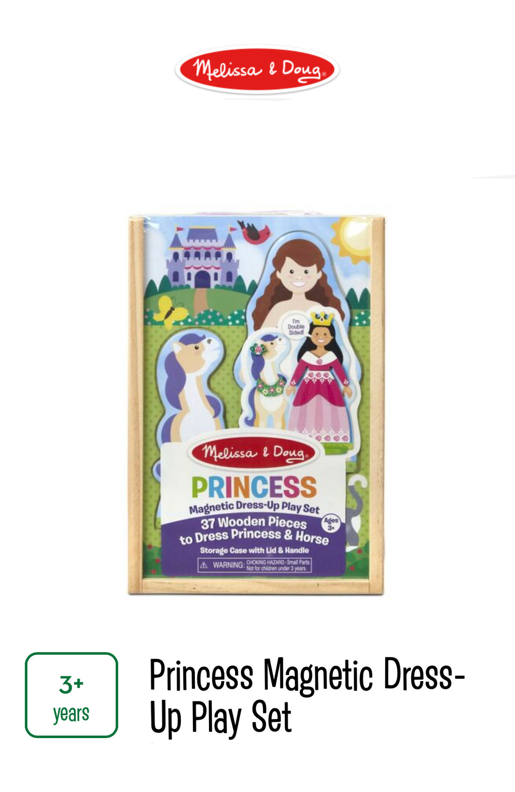 Princess Magnetic Dress Up Play Set