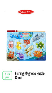 Fishing Game Magnetic Puzzle