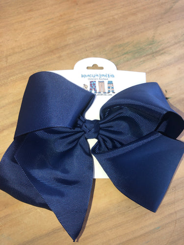 Navy 7.5in Bow