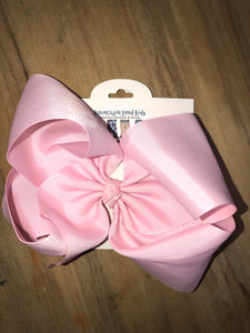 "Light pink 7.5"" Bow"