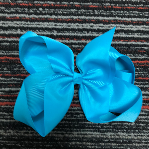 Sky Blue 5.5in Bow