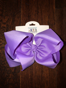 Light purple 7.5in Bow