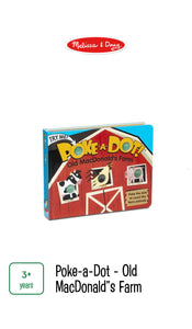 Poke-A-Dot Old MacDonalds Farm Book