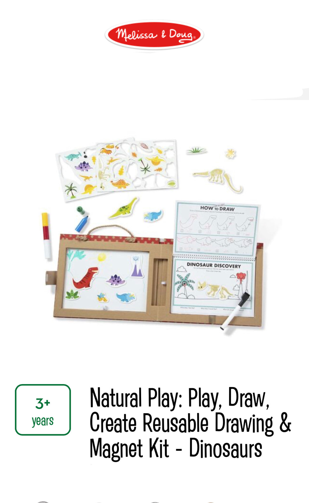 Play, Draw, Create Dinosaurs