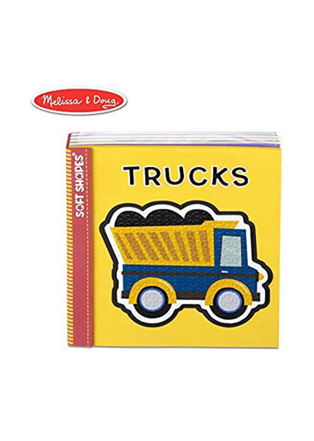 Soft Shapes Book Trucks