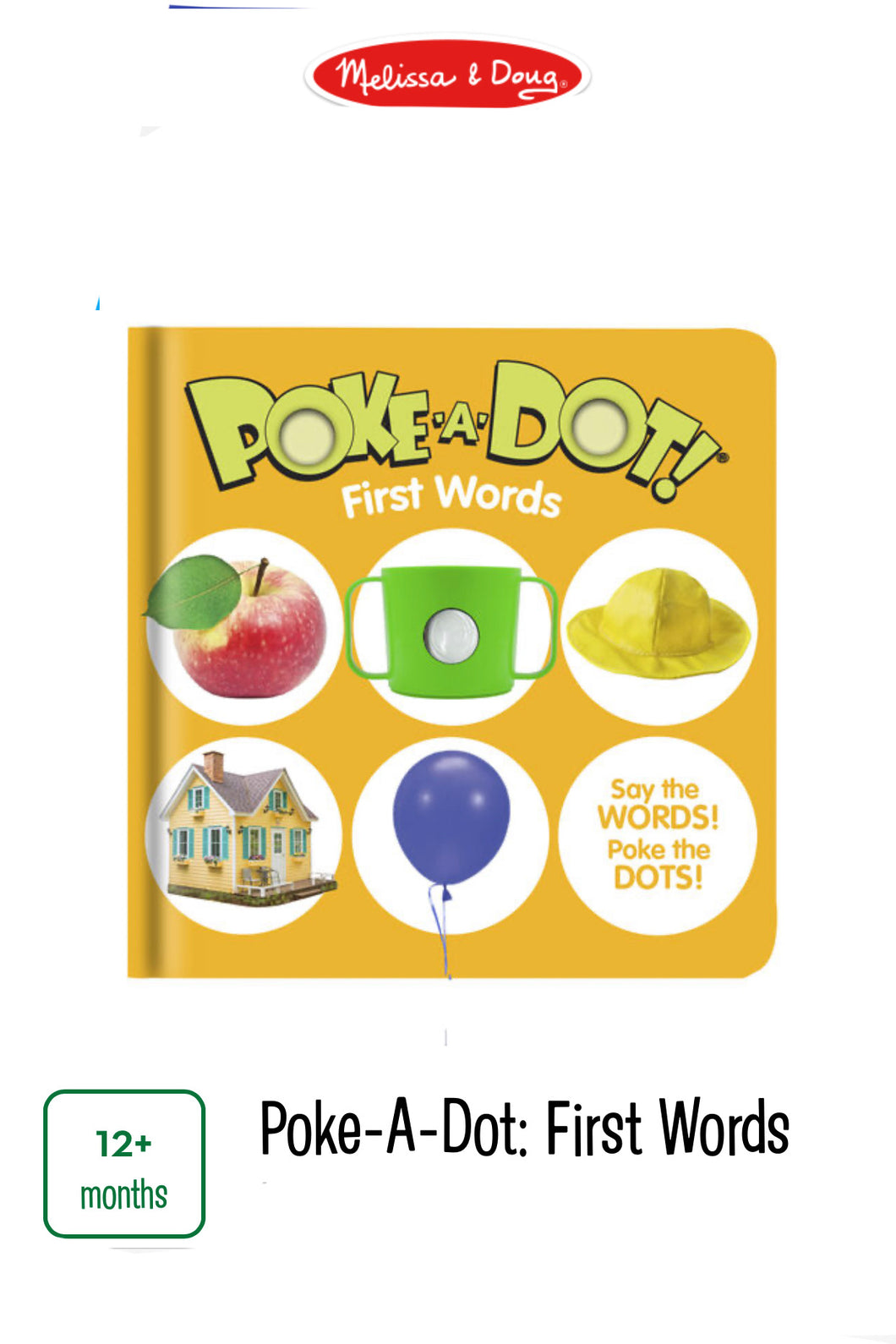 Poke-A-Dot First Words