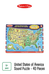 United States of America Sounds Puzzle