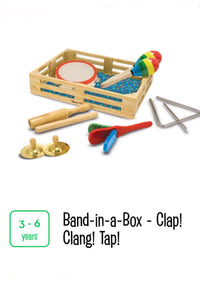 Band-in-a-Box Clap! Clang! Tap!