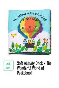 Wonderful World of Peekaboo! Soft Book