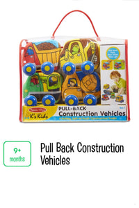 Pull Back Construction Vehicles