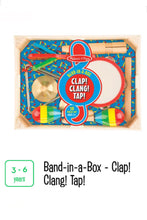 Load image into Gallery viewer, Band-in-a-Box Clap! Clang! Tap!
