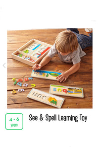 See & Spell