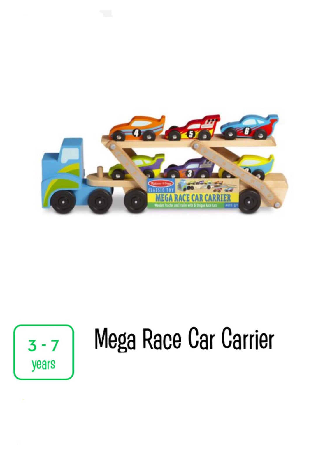 Mega Race Car Carrier