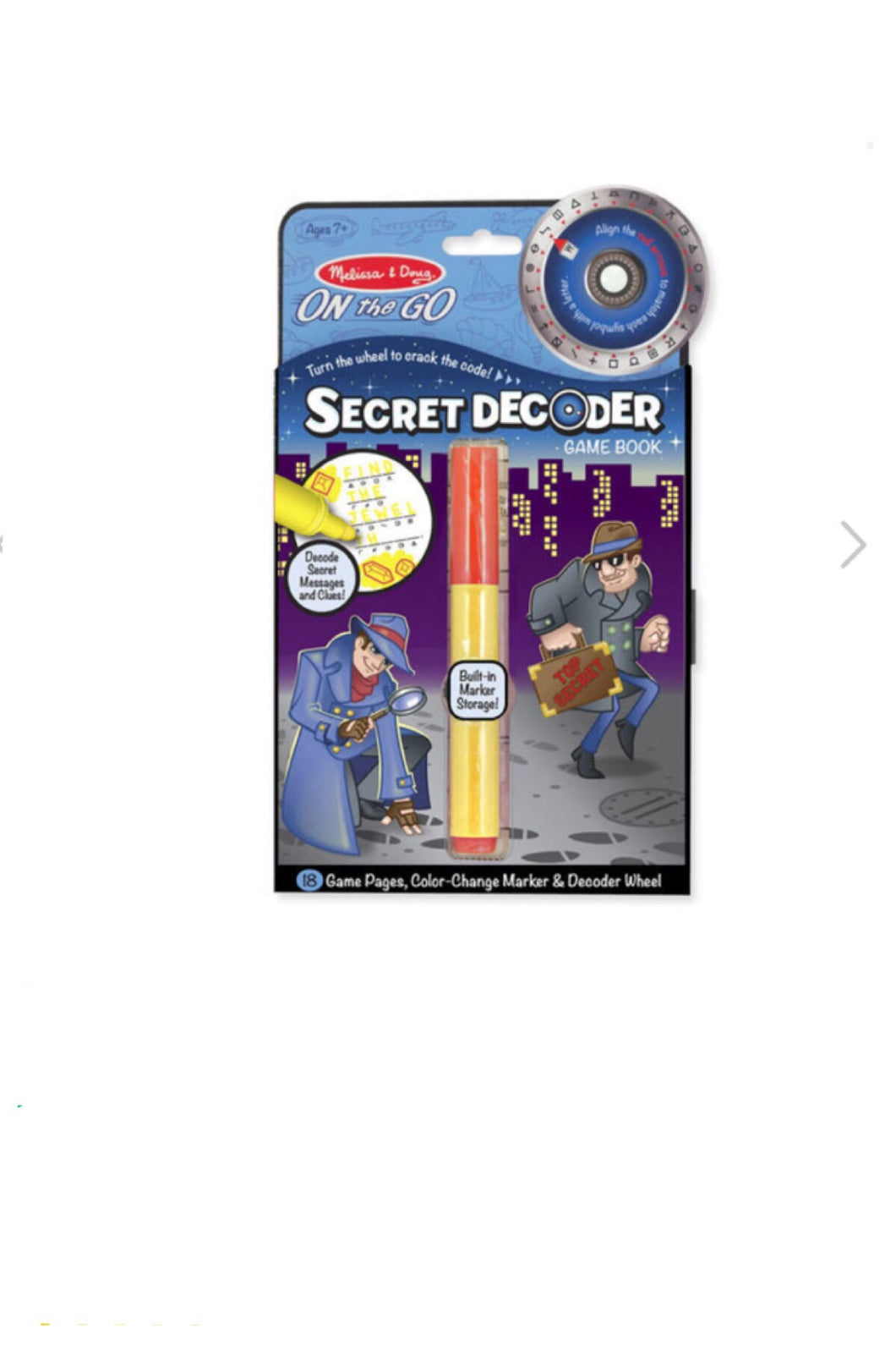 Secret Decoder Pads