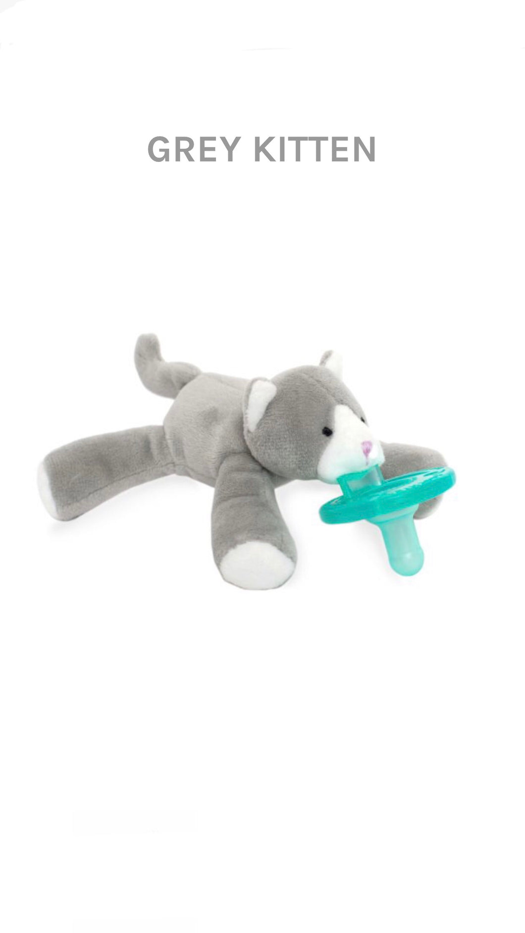 Grey Kitten WubbaNub