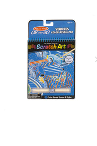 Scratch Art Pads