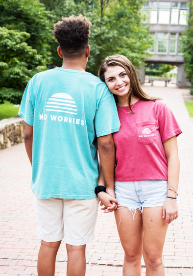 No Worries Pocket Comfort Colors T-shirt
