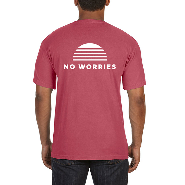 No Worries Unisex Pocket Tee