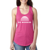 Women's No Worries Racerback Tank