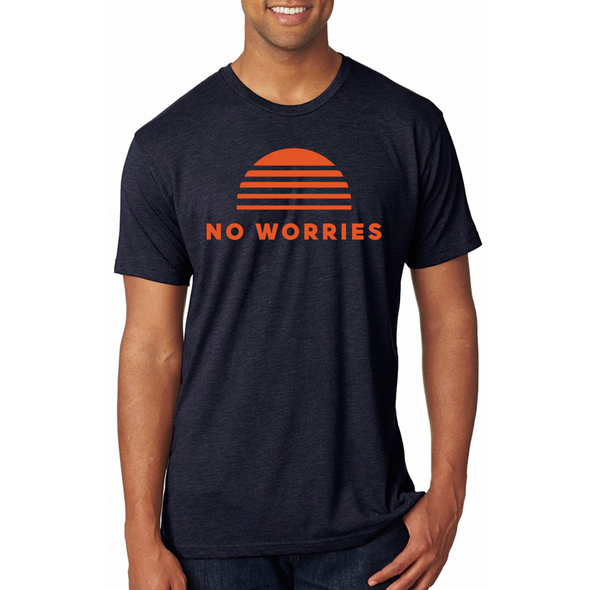 Tri-Blend No Worries Crew