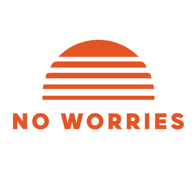 No Worries Classic Decal