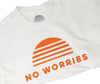 100% Cotton Unisex No Worries Crew