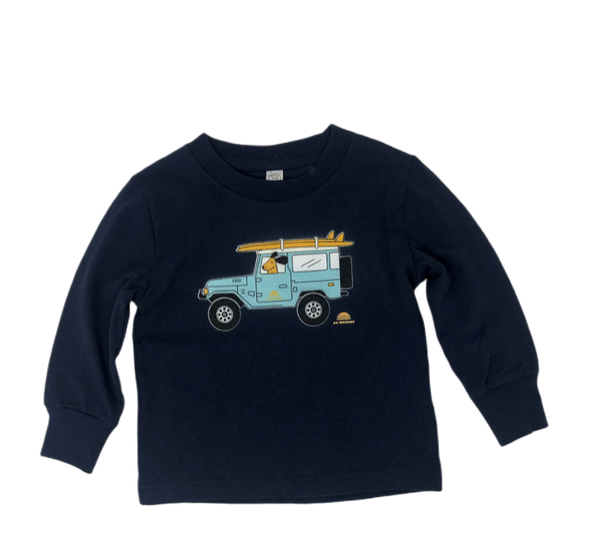 "Unisex long sleeve toddler ""FJ"" t-shirt"