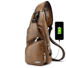 Load image into Gallery viewer, Men's Crossbody Bag