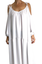 White Iris Gypsy Dress