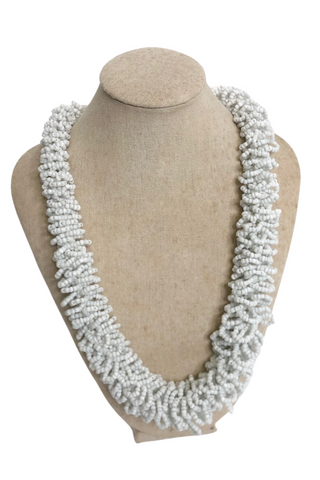 White Coral Beads