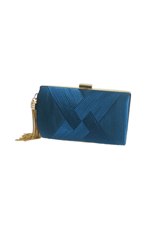 Turquoise Clutch Bag