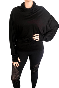 Black Drape Top