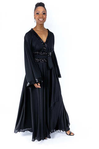 Black Isabella Gown