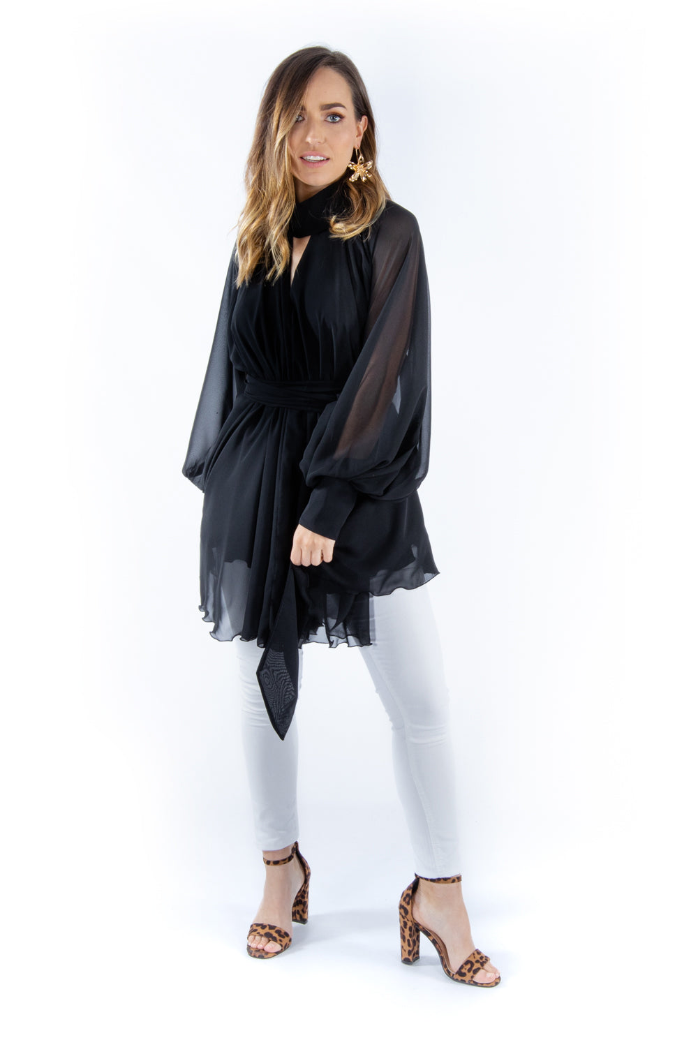 Black Amira Top