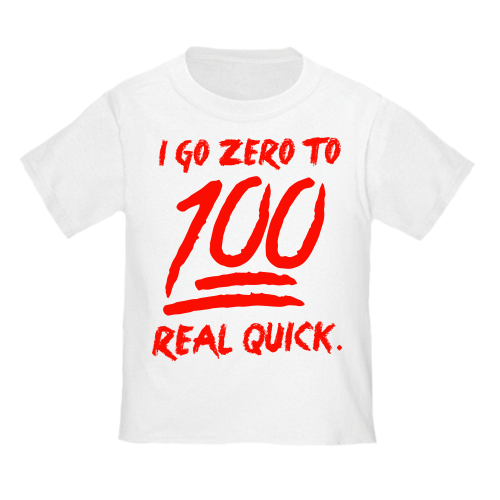 100 BabyFresh White Tee