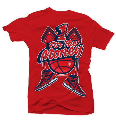 1 for the Money Red Tee
