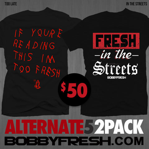 2Pack Alt 5 Too Late / In The Streets