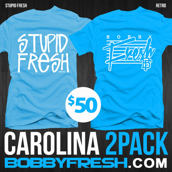 2 Pack UNC Stupid Fresh / Retro