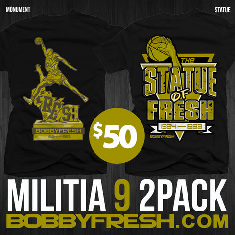 Statue/Militia 9 Collection