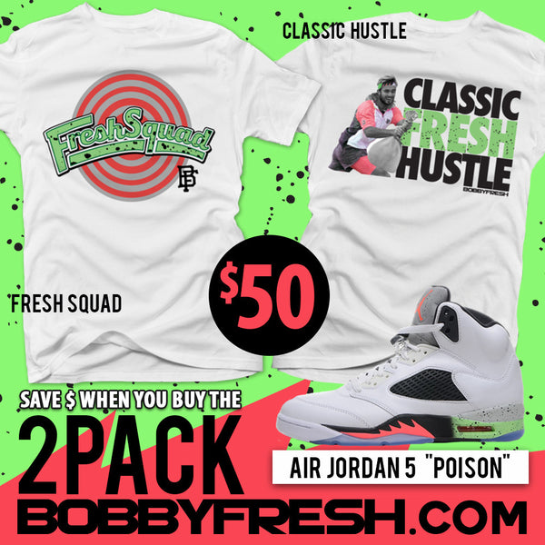 2pack Poison Fresh Squad / Classic Hustle